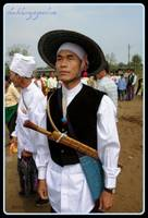 A man in traditional dress