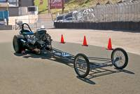 Nostalgia 'Top Fuel' Dragster