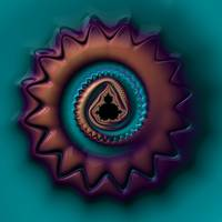 Mandelbrot Medallion (Alternate)