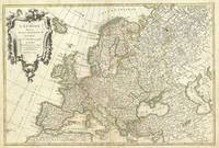 Vintage Map of Europe (1762)