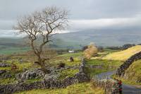 Stormy weather in the Yorkshire Dales