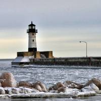 Lighthouse on Ice by Lisa Rich