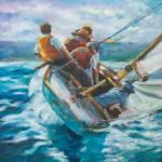 Lake Michigan Sail by Beth Charles