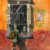 """""""Mexican Coffee Window"""" by schulmanart"""