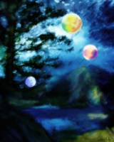 NIGHT VISITORS / RITA WHALEY by Rita Whaley