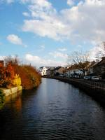 River through Galway City, Ireland