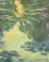 Claude Monet Water Lilies Painting Impressionism