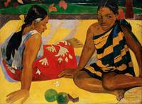 Paul Gauguin Two Women Of Tahiti Parau Api Post-Im