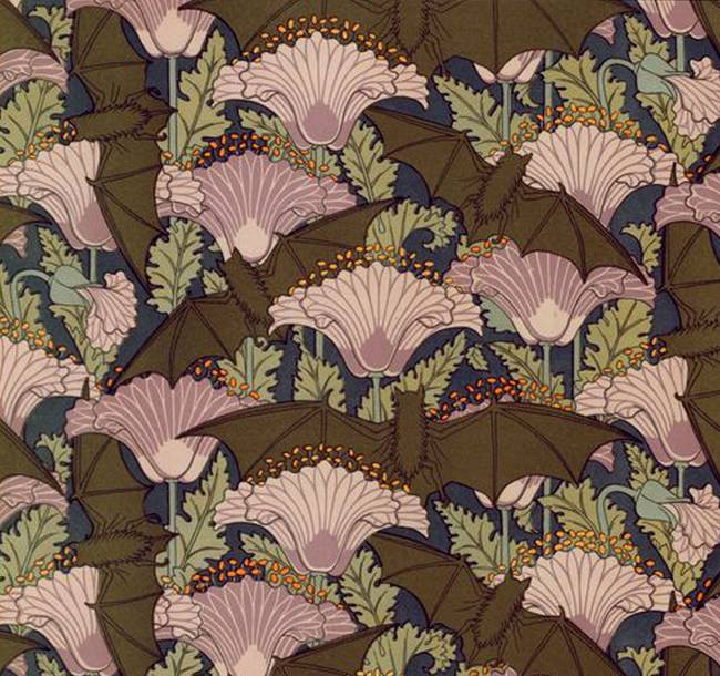 Stunning art deco drawings and illustrations for sale on for Art deco flowers