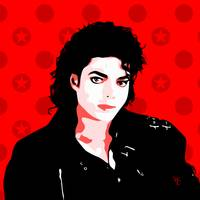 Michael Jackson - Bad - Pop Art