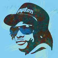 eazy - e pop art sketch poster