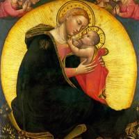 """""""Lippo di Dalmasio - The Madonna of Humility"""" by ArtLoversOnline"""
