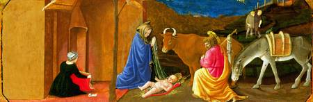 Master of the Castello Nativity - The Nativity