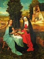 Netherlandish - The Virgin and Child with Saint An