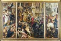 Peter Paul Rubens - Oil Sketch for High Altarpiece