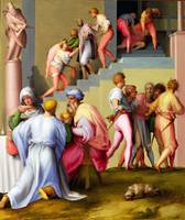 Pontormo - Pharaoh with his Butler and Baker