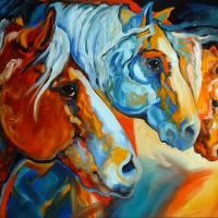 SPIRIT SOUTHWEST HORSES 2822 MARCIA BALDWIN 2006 by Marcia Baldwin