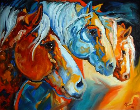 SPIRIT SOUTHWEST HORSES 2822 MARCIA BALDWIN 2006