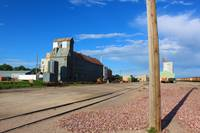 Color Study (Gravel, Tracks, Metal), Alliance, NE