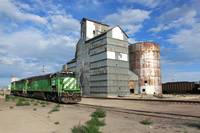 Train and Mill, Alliance, Nebraska