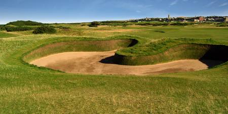 St. Andrews Links Golf Course Hole Hell Bunker Wid