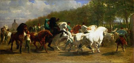 Rosa Bonheur and Nathalie Micas - The Horse Fair