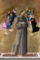 Sandro Botticelli - Saint Francis of Assisi with A