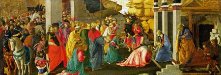 Sandro Botticelli and Filippino Lippi - Adoration