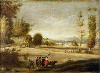 Spanish - Landscape with Figures