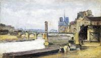 Stanislas-Victor-Edmond Lepine - The Pont de la To
