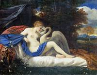 Style of Pier Francesco Mola - Leda and the Swan