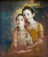 Thomas Gainsborough - The Painter's Daughters with