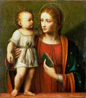 Workshop of Bernardino Luini - The Virgin and Chil