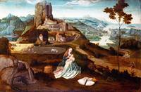 Workshop of Joachim Patinir - Landscape with the R
