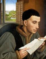 Workshop of Rogier van der Weyden - A Man Reading