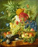 Wybrand Hendriks - Fruit, Flowers and Dead Birds