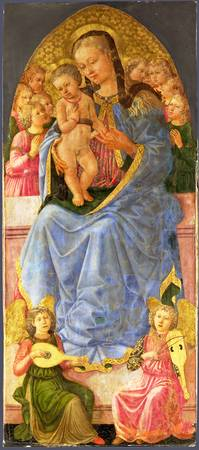 Zanobi Machiavelli - The Virgin and Child