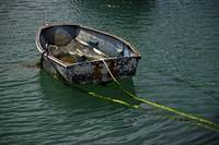 Old Dinghy, Penzance Harbour (37852-RDA)