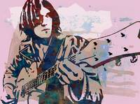neil young  Stylised Etching Pop Art Poster