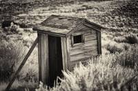 Outhouse in the Field