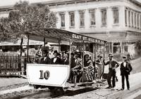 Clay Street Hill Railway, 1873 by WorldWide Archive