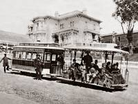 California Street Cable Railroad, 1882 by WorldWide Archive