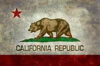 California Flag - Vintage version