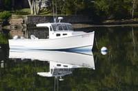 Lobster Boat Ocean Pt, Maine 9733 by Tony Kerst