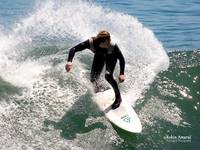 Shadow Surfer California by Robin Amaral