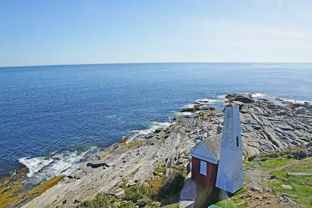 Bell Tower from Pemaquid Lighthouse Window