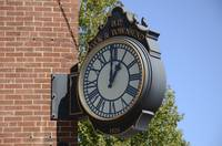 Old Bank Clock Boothbay Harbor, ME by Tony Kerst
