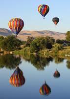 Balloons over Prosser by Carol Groenen