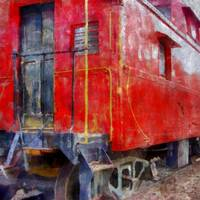 Old Red Caboose