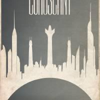 Coruscant_4 Art Prints & Posters by Justin Van Genderen